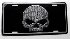 Harley Davidson WILLIE G Ride Hard Ride Free Embossed Car Auto License Plate Tag