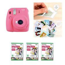 Fujifilm Instax Mini 9 Camera Flamingo Pink 3 Packs Fuji Film 30 Photo 8