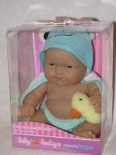 """8"""" Chubby Berenguer Baby Doll In Green With Duck Mint In Box"""