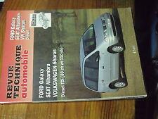 1µ? Revue Technique Automobile ETAI Ford Galaxy SEAT Alhambra Volkswagen Sharan