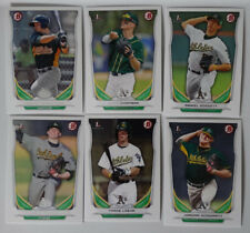 2014 Bowman Draft Oakland Athletics Team Set 6 Baseball Cards