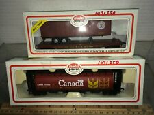 HO 2 model power freight cars Canadian & Pennsy  Discontinued? Free shipping