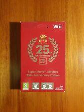 Super Mario All Stars 25th Anniversary Edition | Nintendo Wii | Brand New Sealed