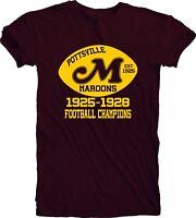 Pottsville Maroons 1925 Logo Football Men's Tee T Shirt Fan Apparel Handmade