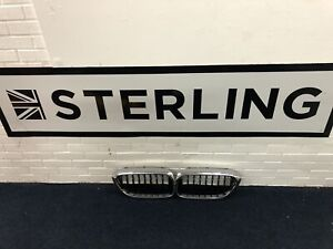 BMW 5 Series G30 Front Kidney Grilles (pair) Gloss Black