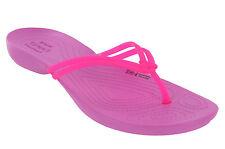 Crocs Isabella Flip Flops Sandals Party Pink Womens Size 8