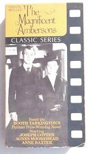Vintage 1986 (VHS) THE MAGNIFICENT AMBERSONS Classic Series JOSEPH COTTEN