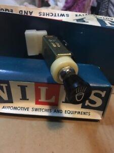 DATSUN 521 520 620 Pickup Wagon Head Light Switch Control NILES NOS JAPAN