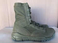 "Men's Nike SFB QS 8"" Special Field Military Boots Sage Green Size 11 479977 300"
