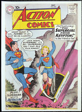 SUPERMAN & SUPERGIRL REPRO POSTER ISSUE #252 CURT SWAN 1959 COVER. DC COMICS D30