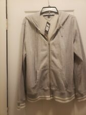Ladies Tommy Hilfiger Sweat Jacket NWT Grey XL
