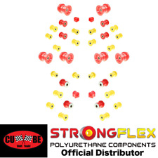 Strongflex - Poly FULL SUSPENSION Bushing Kit for 87-92 MK3 A70 Supra (Road)