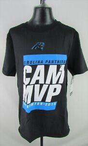 Carolina Panthers NFL Youth 2015 Cam Newton MVP Short Sleeve Graphic T-shirt
