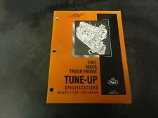 Mack Truck Engine Tune Up Specifications Manual   2001   Engine 5-313