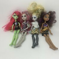 Mattel Monster High Doll Lot Of 4 OOAK