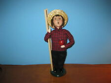 Byers Choice 2002 Paper Store Apple Harvest Boy
