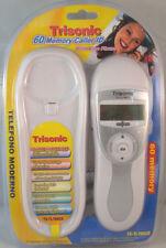 White Wall Mount Desk Top Slim Corded Home Phone Landline Telephone & Caller ID