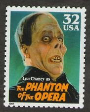 US. 3168. 32c. Lon Chaney as The Phantom of the Opera. Classic Movie Monsters.