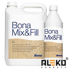 BONA Mix & Fill Parkett Fugenkitt 1L 3L 5L Fugenkittlösung Fugenfüller Fugen