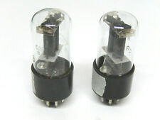 MATCHED PAIR 6N8S /6SN7 /1578 RUSSIAN Tubes FOTON PLANT. FROM 1967!!