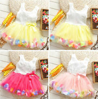baby girl dress party pageant christmas birthday gift kids clothing skirt tutu