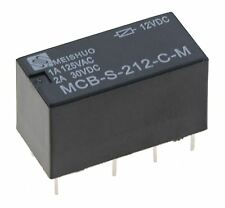 Subminiature 12V Changeover Relay 2A DPDT