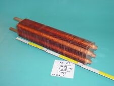 Lamellentauscher aus Kupfer Nr. 71   Destille Kühlspirale Teichheizer Solar