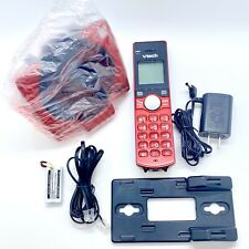 Vtech Red Cordless Phone System With Caller ID /Call Waiting Open Box/New