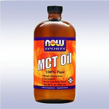 NOW MCT OIL LIQUID 100% PURE (32 FL. OZ.) thermogenic fat lose weight management