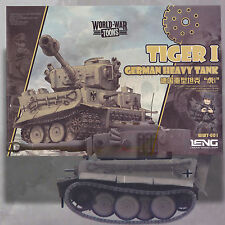 MENG TIGER I GERMAN HEAVY TANK WORLD WAR TOONS KIT WWT-001 NO GLUE REQUIRED