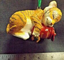"The Danbury Mint Christmas ""Baby Animal"" Ornament ""Tiger Cub"" Figure Euc"