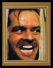 The Shining Jack Nicholson Framed 11x14 Photo Display