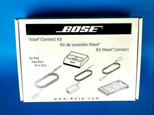 Bose Wave Music System Auto Docking Station for iPod Connect Kit 120V WMS-WRII