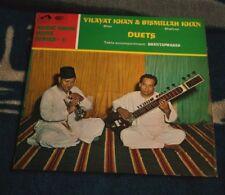 BISMILLAH KHAN, VILAYAT KHAN DUETS UK LP HMV ASD 2295
