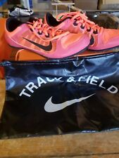 NIke Zoom Rival MD 7 Spike Men's Sprint Running Shoes 616312-600 Size 10  Pink
