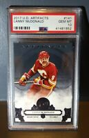 2017 Lanny McDonald Upper Deck Artifacts #141 Hockey Card - PSA 10 GEM MINT
