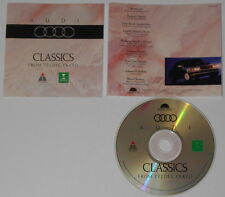 Audi Classics  U.S. promo cd  hard-to-find