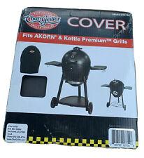 Char-Griller Akorn & Kettle Premium Grill Cover, Model #16755, Black NEW