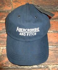 MENS ABERCROMBIE & FITCH BLUE ADJUSTABLE HAT CAP ONE SIZE
