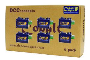 DCC Concepts CB6DIP COBALT IP Digital Turnout Motors (Pack of 6)