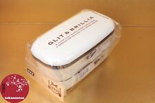 BENTO BOX LUNCH BOX BOITE REPAS MADE IN JAPAN GLIT & BRILLIA BEIGE COLISSIMO