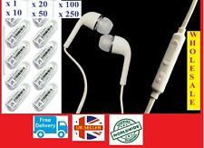 Earphone Headset Headphone With Mic For Samsung GALAXY S7 S6 4  Note 5 Wholesale