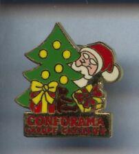 RARE PINS PIN'S ..  ART FETE PERE NOEL CHRISTMAS / CONFORAMA ¤3A