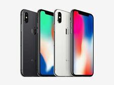 Apple iPhone X 64gb/ 256gb Black, Silver Factory Unlocked Smartphone