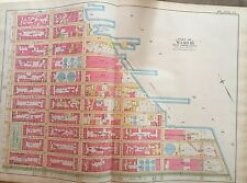 1891 E ROBINSON EAST VILLAGE MURRAY HILL MANHATTAN NEW YORK ATLAS MAP 14th-25 ST