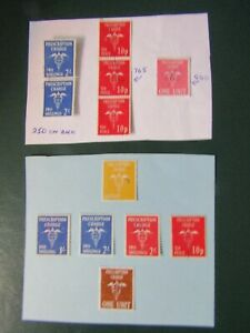 PRESCRIPTION CHARGE GB STAMPS