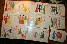 11 VINTAGE SEWING PATTERNS CREATIVE PATTERNS AND BOOKLETS
