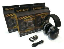 (Pack of 5) EarMuff Headsets, 31 Decibels with Bluetooth & AUX Port Connector