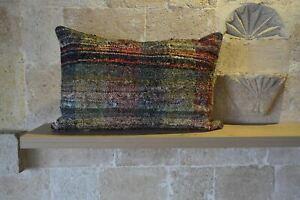Kilim Cushion, Small Turkish Cushion, Bohemian Cushion, Oriental Cushion, Small