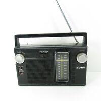 Vintage Sony TFM-7150W Transistor AM FM Radio Receiver